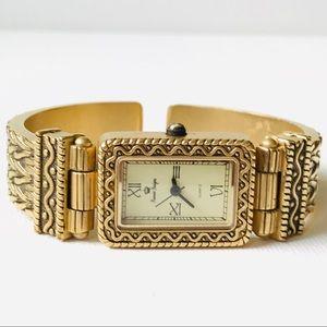 Premier Designs Gold Cuff Watch